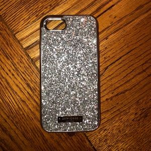 kate spade Accessories - Kate Spade Sparkly Phone Case (iPhone 7/8)